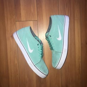 Nike SB Suede casual low Teal Aqua Mint Green 9.5